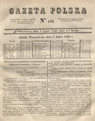 Wiadomosc o Krynicy Gazeta Polska 1829