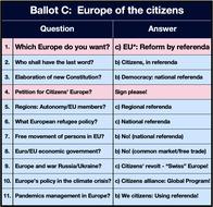 Image: Ballot C - Citizens