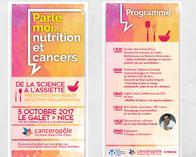 Nutrition Cancers LMC France Canceropôle Livre de recettes LMC