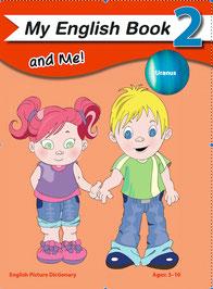 EFL kindergarten text picture dictionary coloring book