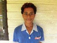 レミさん(13歳) ロマ小学校