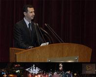 حديث السيد الرئيس بشار الأسد في الإفتتاح الرسمي لإحتفالية