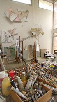 Entre Normandie et Picardie, un atelier d'artiste proche de Paris