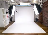バック紙スタジオ設備