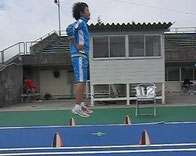 小学生高学年クラス          リバウンドジャンプテストの様子
