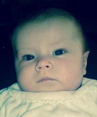 Jehanne : moi à 5 mois !