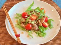 Chashu-pork Salad