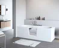 Badewanne mit Tür vom deutschen Hersteller Börsting GmbH