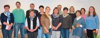 Die neue Vorstandschaft des OGV Ast mit Frank Martin und Margrit Hübert.