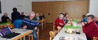 Die Aster Senioren bei ihrem ersten Treffen im neuen Jahr.
