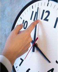 Zeitmanagement: Angebote für Seminare-Trainings-Übungen