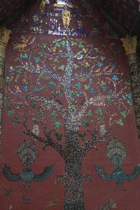 Flammenbaum-Mosaik, Vat Xienthong, Luang Prabang