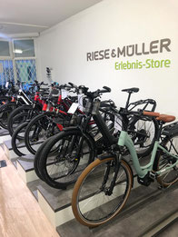 Riese & Müller Erlebnis-Store e-motion e-Bike Welt Wien