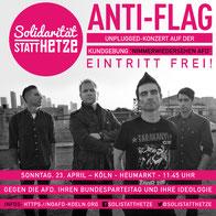 ANTI FLAG - Solikonzert gegen AfD-Parteitag