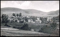 Ortsansicht Hesborn um 1900 rum