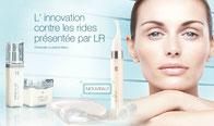 Toutes les lignes de produits de soin LR, totalement naturelles, sont adaptées aux besoins des différents types de peau. SEROX = Bottox en soins chez vous! C'est l'anti-ride Indispensable après 40 ans