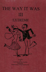 Cover of The Way It Was, III: Extreme
