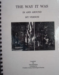 Cover of The Way It Was: In and Around Mount Vernon