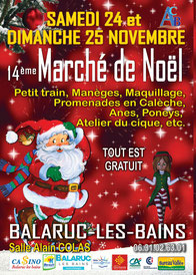Marché de Nöel Balaruc