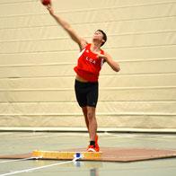Luka Kunkel Kugelstoßen Hallenmeisterschaften 2017