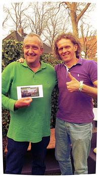Mein Laufgutschein an Dieter für die Teilnahme beim Berliner HM.