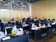 結城市民情報センターでの授業風景*2013年冬期講習より