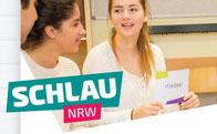 Logo SCHLAU NRW, Quelle: schlau-nrw.de