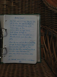 Petra Mettke/Gigabuch Michael 01/Originalordner/1993/Songtext aus dem Notat 034 auf Seite 363