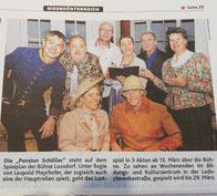 Pension Schöller - Bericht Kronen Zeitung, Printausgabe 23.02.2020