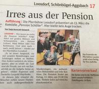 Pension Schöller - Bericht in NÖN Bezirk Melk Printausgabe Wo. 08/2020