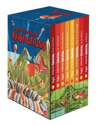 Cover Geschenkschuber Ingo Siegner: Der kleine Drache Kokosnuss. cbj-Verlag