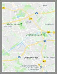 Bildauschnitt Google maps
