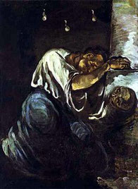 "Paul Cézanne, ""La Maddalena"" (1865-1868)"