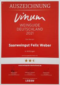 Felix Weber, Wiltingen, Saarwein, Riesling Saar,