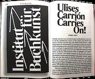 Maike Aden Ulises Carrion Carries On, Leipzig 2017