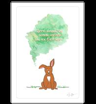 "Postkarte ""Bunny B."""