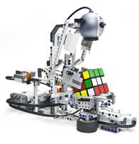 Ejemplo de robot de LEGO. Tomado de robotics.benedettelli.com