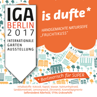 IGA Berlin 2017 Internationale Gartenausstelung Berlin Souvenir und Berliner Geschenkideen für Geschäftspartner