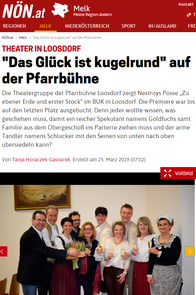 Der Rittbergberg Vertrag - Bericht in Tips Melk Wo. 10/2016