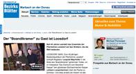 Der Boandlkramer zu Gast in Loosdorf - Bericht auf bezirksblaetter melk