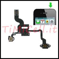 Riparazione  Sensore di prossimità e tasto di accensione per iPhone 4  a Bari