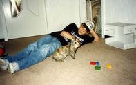 Ronny & Bommel beim spielen
