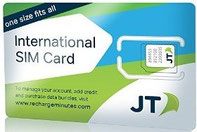 EUヨーロッパ周遊プリペイドSIMカード 日本で購入