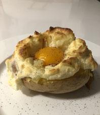 Huevo a la patata