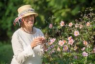 Gartenbesuch mit Kristin Wichert auf dem Alten Forstamt im Teutoburger Wald