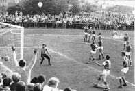 Fußballspiel gegen Werdau