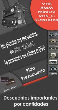 Pasamos vídeos VHS a DVD
