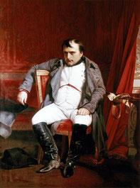 Наполеон I после отречения во дворце Фонтебло, Деларош.