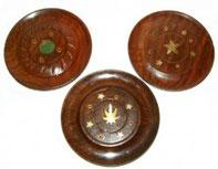 Porte bâtonnets & cônes d'encens forme disque
