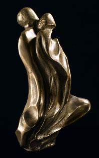 Sculpture résine bronze